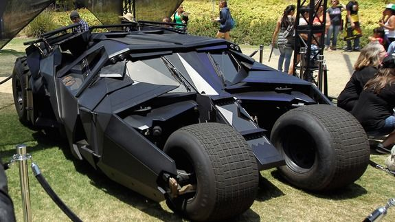 The Batman Tumbler Batmobile is on sale and yes it comes in black