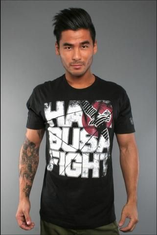 MMA T-Shirt - MMA Hayabusa Fight