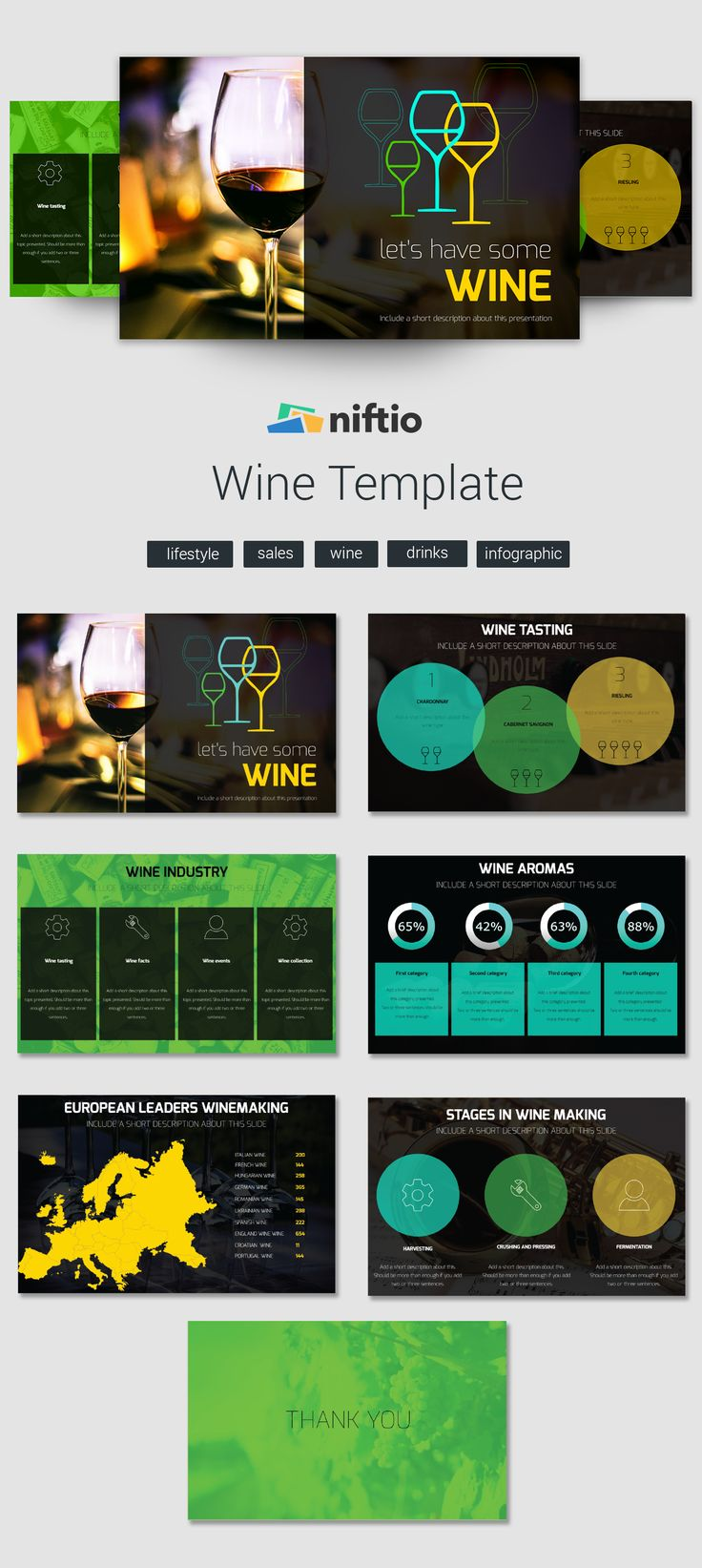 Want to share your passion for #wine and #winemaking? Then we might have just the perfect template for you!