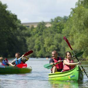 Kayak sur le Meuse