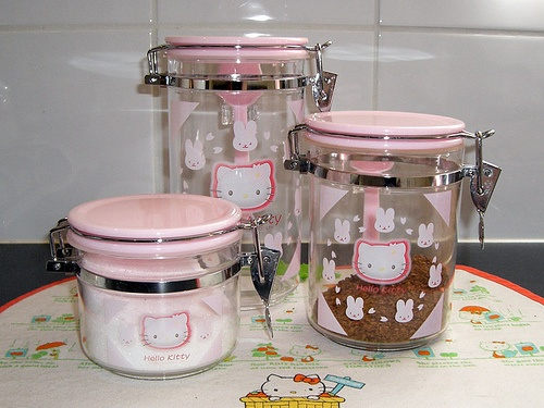 Hello Kitty Kitchen Canisters
