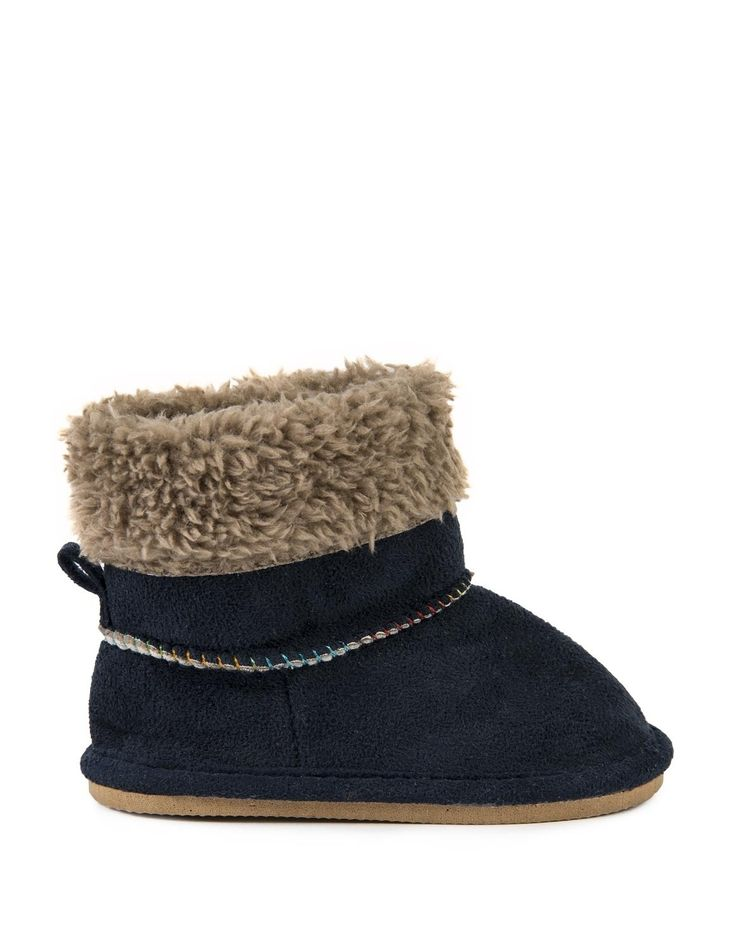 Furry Soft Boots