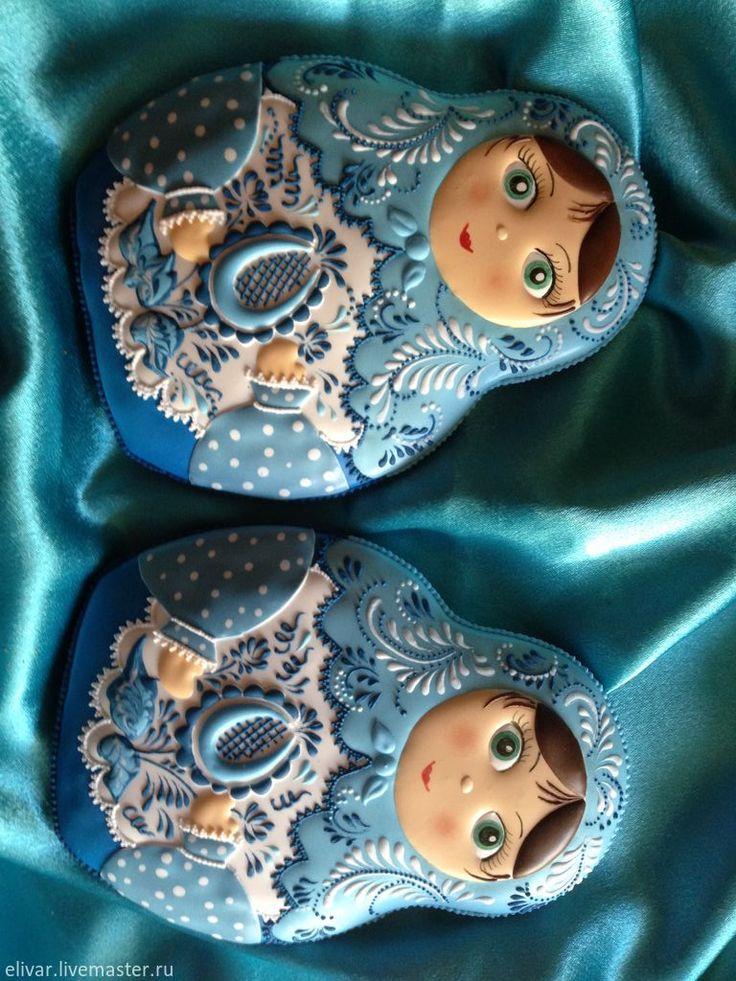 Купить Матрешка - матрешка, сувенир, пряники, козули, русский сувенир, красота…