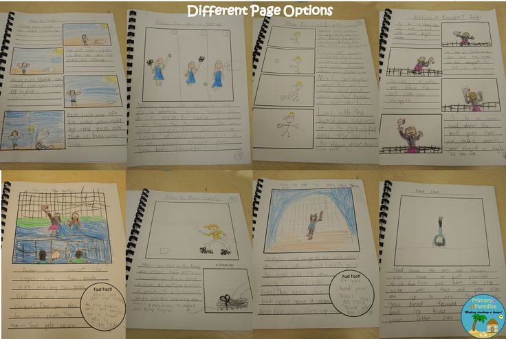 2nd Grade Informational Writing Books Ideas (Lucy Calkins) | My Primary Paradise
