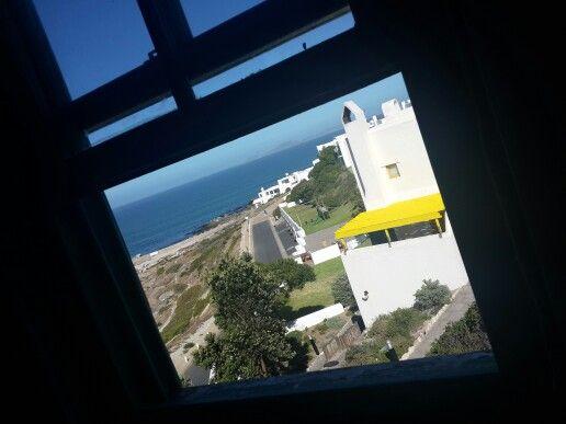 Through the window at Club Mykonos