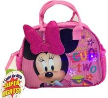 """Minnie Mouse """"""""One Cup or Two"""""""" Lights Purse Lunch-bag"""
