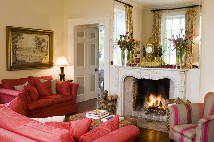 """Iscoyd Park """"Little drawing room"""" warm and cosy!"""