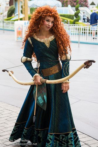 Merida - Matti's Halloween costume!!! So excited...