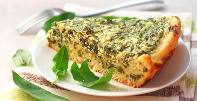 Cheesy spinach pie recipe: A guilt-free treat for Lent #ATasteOf
