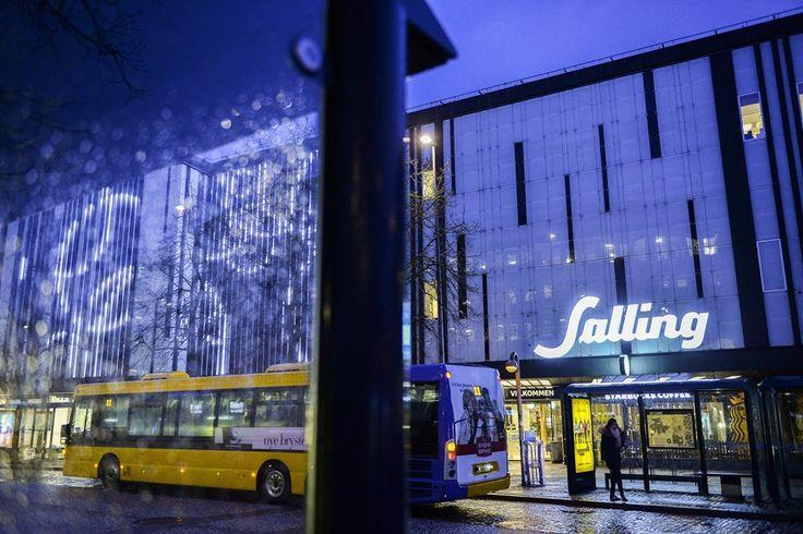 Interaktiv facade på Salling - Galleri   Nordjyske.dk