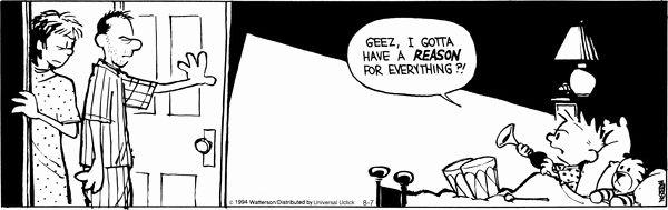 Calvin and Hobbes Comic Strip, August 07, 2014 on GoComics.com