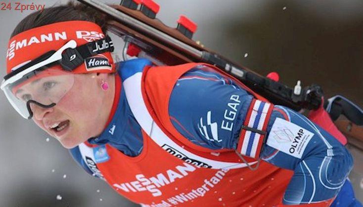 ONLINE: Potvrdí Vítková skvělou formu? Sprint běží šest Češek
