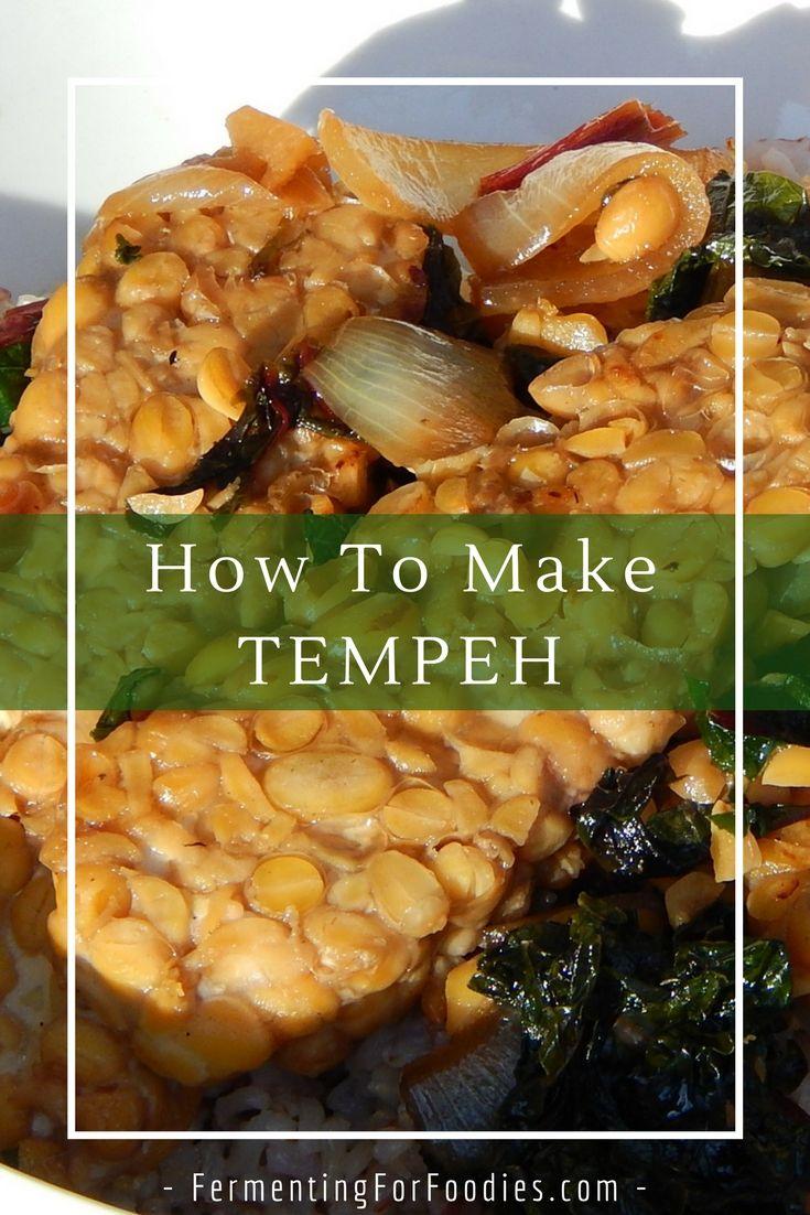 Homemade Soybean Tempeh Fermenting For Foodies Tempeh Raw Milk Recipes Vegan Dishes