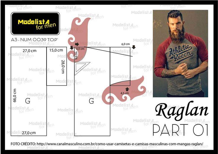Raglan é o nome dado a manga de camiseta, blusa, casaco ou camisa cuja característica é se estender a partir da gola (e não o ombro, como ...
