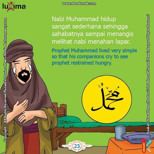Benarkah Nabi Muhammad SAW Pernah Menahan Lapar Karena Tak Ada Makanan? | Ebook Anak