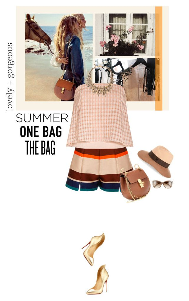 """""""Summer - one bag - the bag..."""" by matilda66 ❤ liked on Polyvore"""