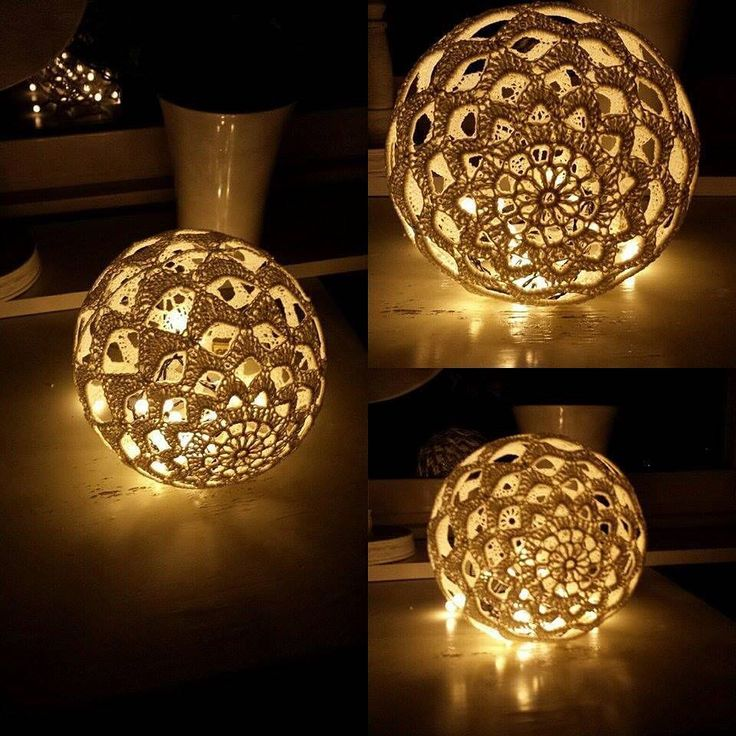 """411 gilla-markeringar, 23 kommentarer - Åsa Bautovic (@bautawitch) på Instagram: """"Virkade ljusbollar är väldigt populära!  Denna är den vackraste jag sett! Duktiga Laila Stridh har…"""""""