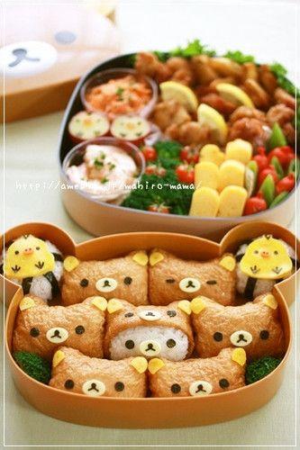Inari Sushi for the kids
