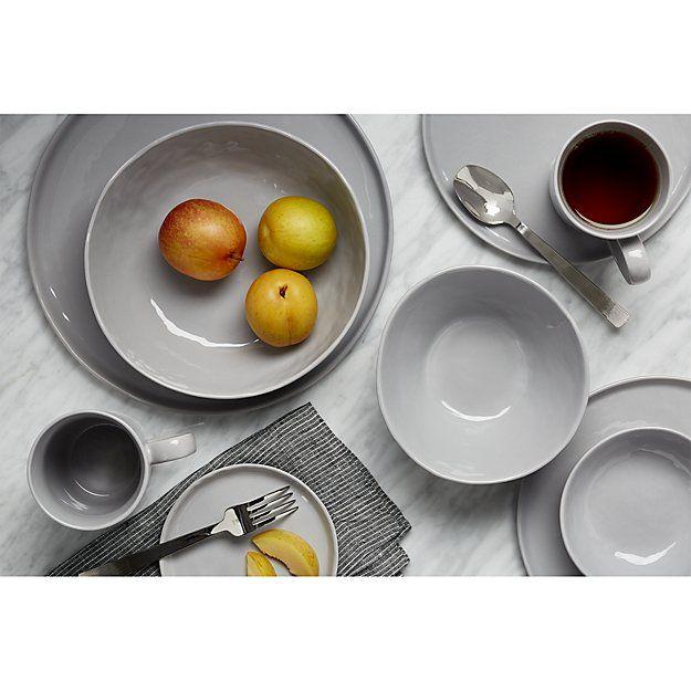 Mercer Grey Dinnerware