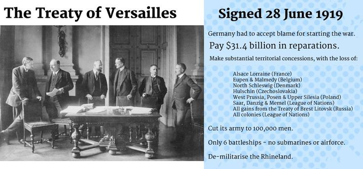 Trump's Terrifying Treaty of Versailles Precedent