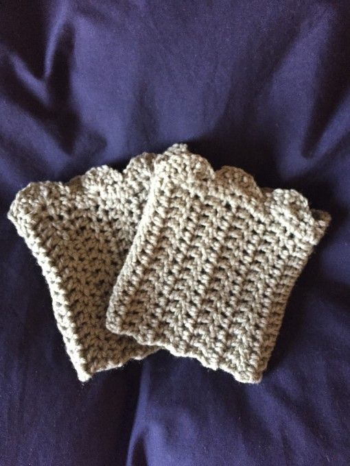 414 Best Boot Cuffs Love Images On Pinterest Crochet Boot Cuffs
