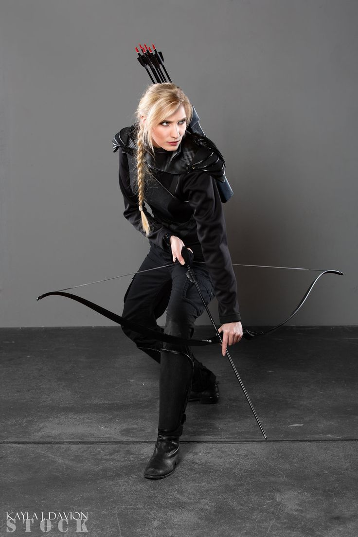 Mockingjay STOCK I by PhelanDavion female fighter ranger archer assassin cosplay costume LARP armor clothes clothing fashion player character npc | Create your own roleplaying game material w/ RPG Bard: www.rpgbard.com | Writing inspiration for Dungeons and Dragons DND D&D Pathfinder PFRPG Warhammer 40k Star Wars Shadowrun Call of Cthulhu Lord of the Rings LoTR + d20 fantasy science fiction scifi horror design | Not Trusty Sword art: click artwork for source