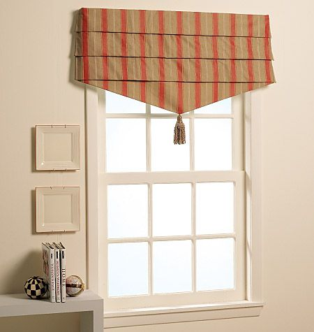 17 Best images about Window Treatment on Pinterest   Ticking ...