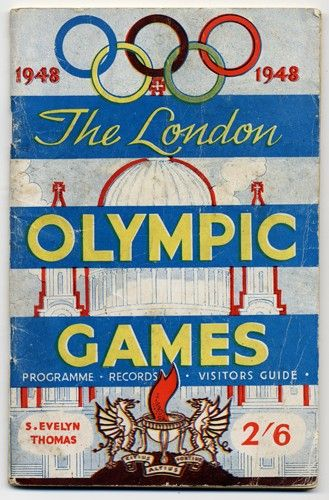 1948 Olympics - the last time it was held here