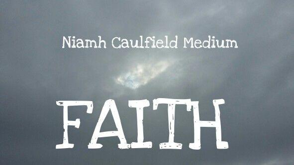 #faith #selfbelief #selfconfidence #niamhcaulfieldmedium