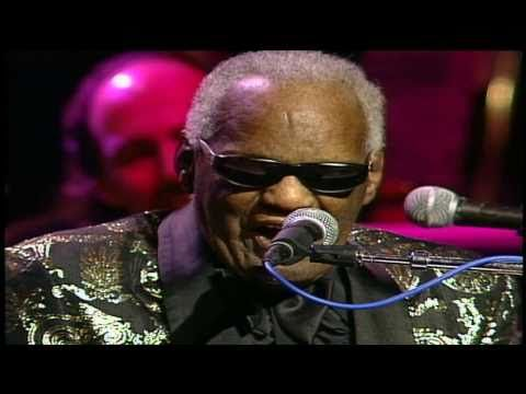 The legendary Ray Charles -  America,The Beautiful (LIVE) HD  This song never fails to give me the chills down my spine and arms!1! Love this man's music! Ray Charles is a man touched by the grace of God.