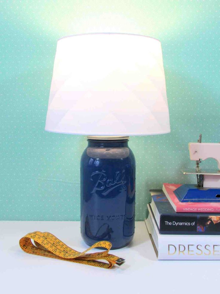 …what?! A mason Jar Desk Lamp? You can make those? You certainly can! With a couple of materials, a little bit of effort and some sound instructions, you'll have yourself a fully funct…