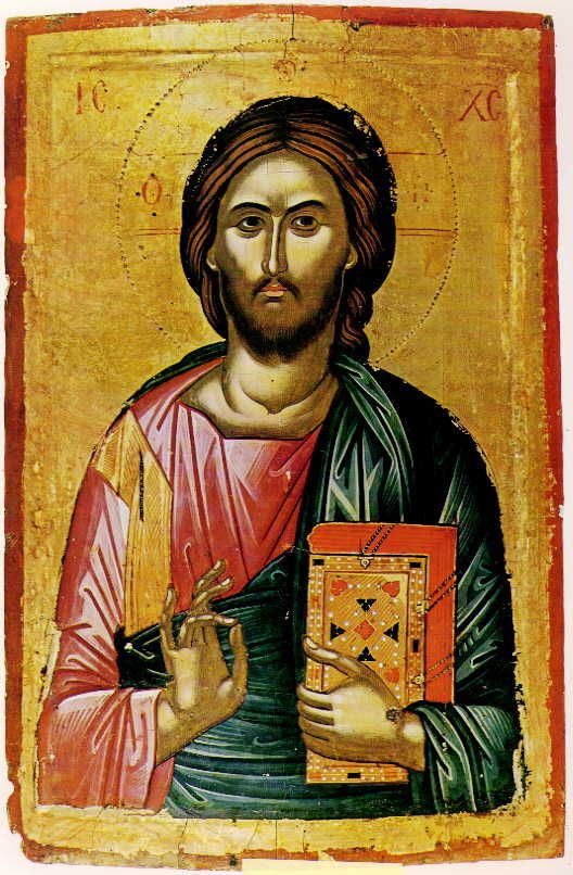 Christ Icon from Mount Athos