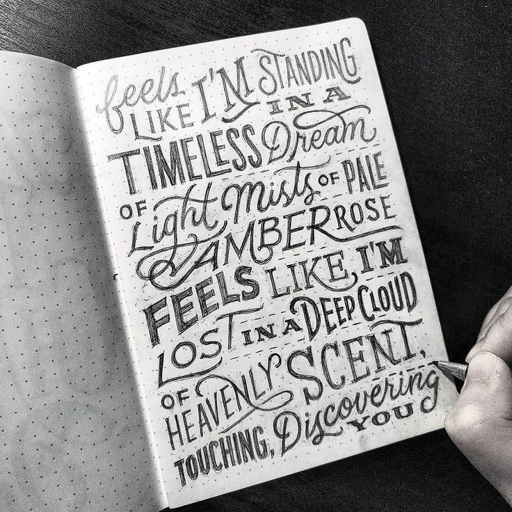 Gorgeous lettering by @dandrawnwords - #typegang - typegang.com | typegang.com #typegang #typography