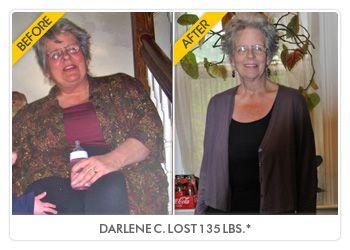Darlene C lost 135 lbs