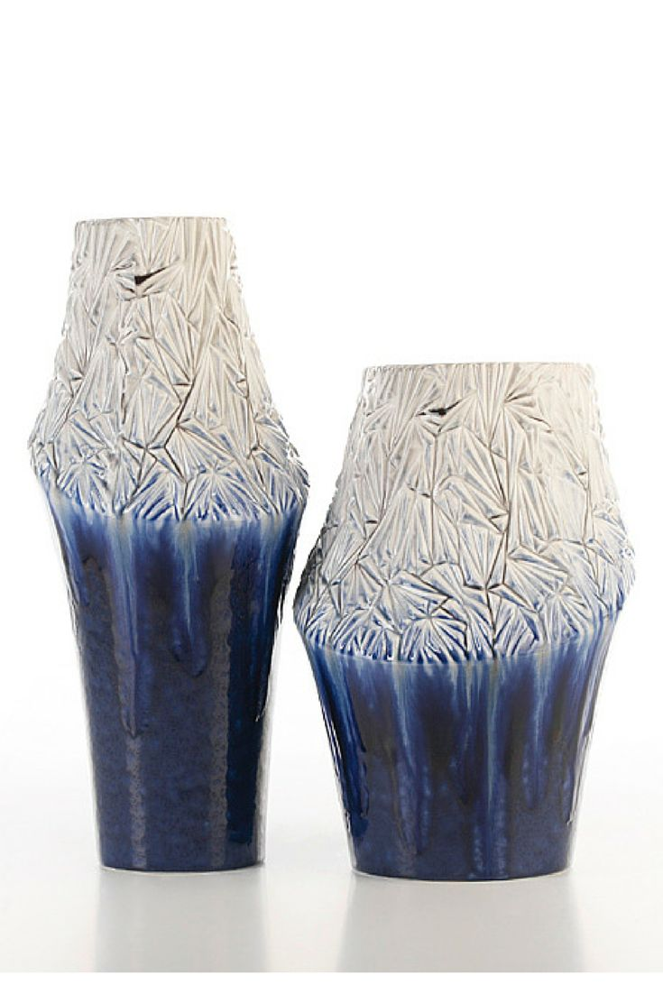 Surface #ceramics #homelivingceramics #vase #blue #texture #homeaccessories #interiordesign | www.arfaigm.com