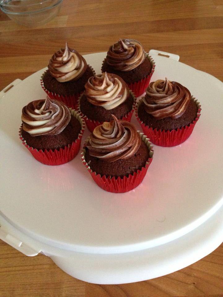 Nikola Coleman Chocolate & Vanilla Cupcakes