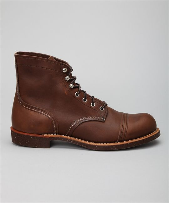 """Red Wing Shoes 6"""" Iron Ranger 8111-Amber Harness skor – Skor online - Lester Skor Online"""