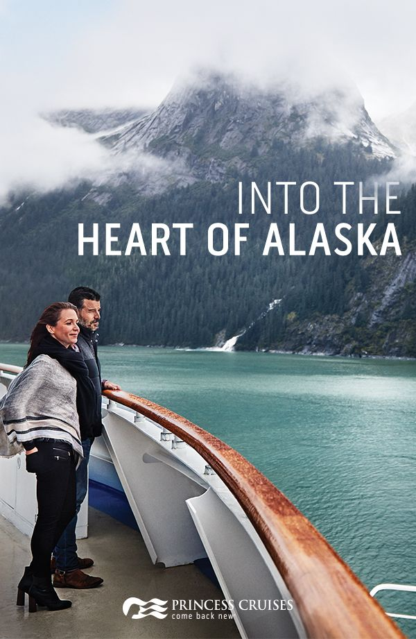 """Come find yourself in the heart of the wilderness and discover the very best of Alaska with Princess. Discover Alaska's majestic glaciers, wildlife and national parks on the adventure of a lifetime. Book today and find out why Princess has been named """"Best Cruise Line in Alaska"""" nine years in a row by Travel Weekly magazine."""