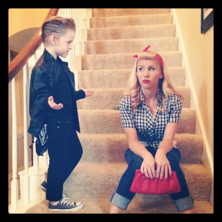 1950 greaser girl look - Google Search