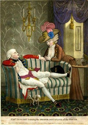 1782 Hand-coloured mezzotint