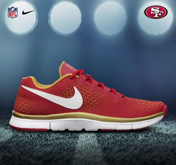 I'd die for these Nike running shoes sf niner shoes