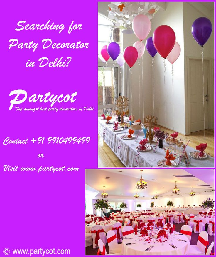 Searching for a party decorator in Delhi? Partycot – Top amongst the best party decorators in Delhi. Contact +91 9910499499 or visit http://www.partycot.com