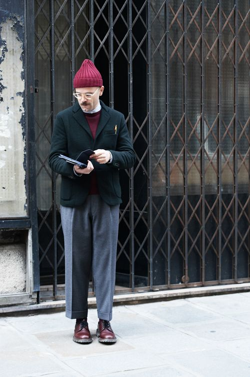 Angelo Flaccavento, this guy can put a look together so well! I am a big fan of the trouser Vs blazer ratio. Something Angelo has been doing really well for a while now. You could say it's his signature look.