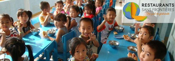 Exki et RSF : collecte de fonds réussie pour Toutes à l'Ecole – Avril 2014 | Restaurants Sans Frontières