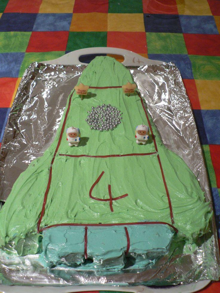 Thunderbirds cake