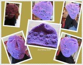 Sweet Nothings Crochet: EXQUISITE FLOWER BEANIE