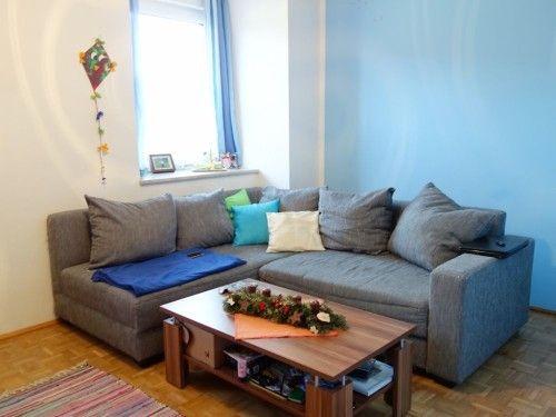 Die Wohnung Ist Nach Norden Und Osten Ausgerichtet Verfgt Ber Eine Nette Wohnkche Wohnzimmer Ein Schlafzimmer
