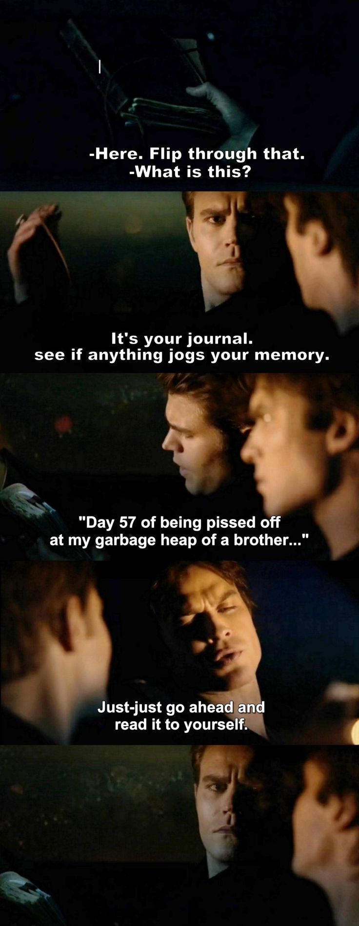 The Vampire Diaries TVD 7X17 - Damon and Marty