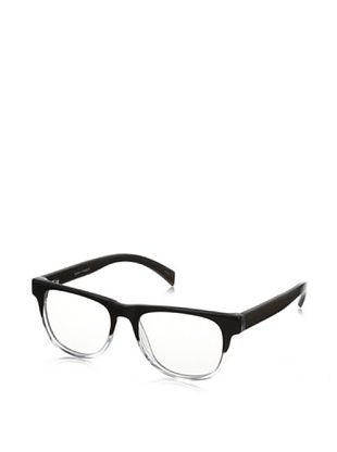 74% OFF Ivory + Mason Men's Arden Eyeglasses, Black Crystal/Walnut