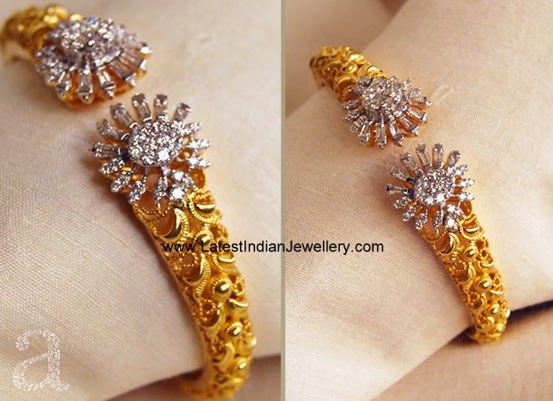 stylish indian gold bracelet